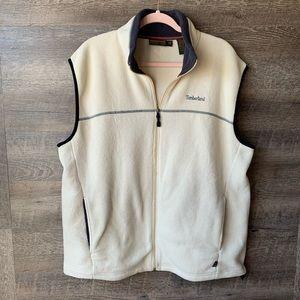 Timberland Weathergear Fleece Zip Up Vest XL